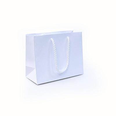 Белый пакет 20х16х9 см