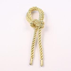 Витой шнур (Золото светлое) с наконечником