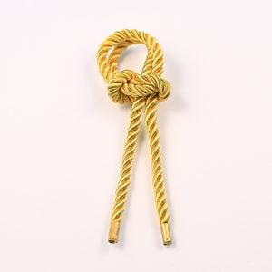 Витой шнур (Золото) с наконечником