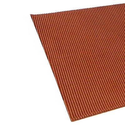 Лента репсовая (коричневая 6,5 см)