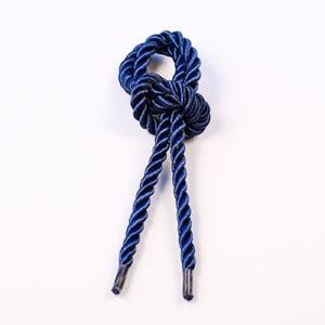 Витой шнур (Синий) с наконечником