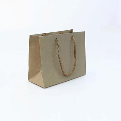 Крафт пакет бурый 20×16×9 см
